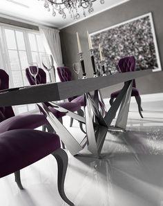 #mesadesalon #mesadecomedor #dinningtables Mesas de comedor para tu salon http://www.francofurniture.es/catalogo-enzo/