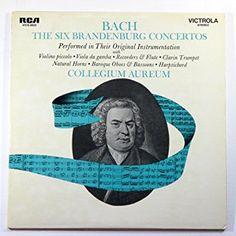 Bach: The Six Brandenburg Concertos Performed in Their Original Instrumentation / Collegium Aureum