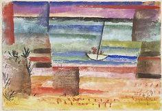 Paul Klee, Landing Boat, 1929, Drawing, Swiss, 20th century   Harvard Art Museums