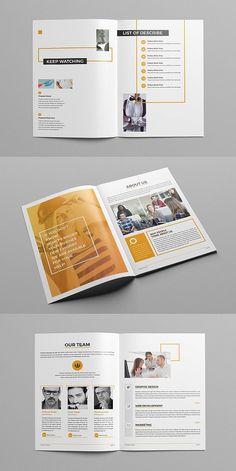 Style Journal Template -Nute Style Journal Template - Lifestyle Magazine Template Annual Report by MrTemplater on . Page Layout Design, Magazine Layout Design, Book Layout, Newsletter Layout, Newsletter Design, Indesign Templates, Brochure Template, Free Brochure, Brochure Ideas
