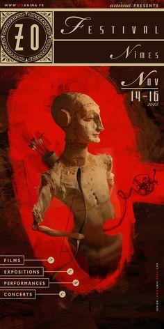 poster ZO festival by Lars Henkel