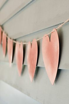 Cute addition to a simple, romantic wedding! Easy to make yet very effective!