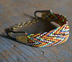 Zig Zag Boat Bracelet