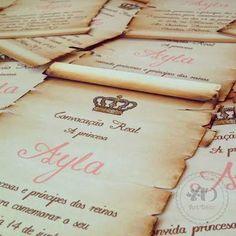convite princesa real - Pesquisa Google