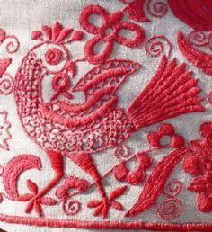 Ribisli Heritage Hungarian Embroidery-parna