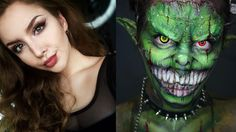 21 Halloween Makeup Before And Afters That'll Blow Your Mind