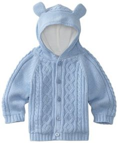 Kitestrings Baby-boys Newborn Hooded Cardigan