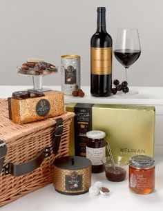 Indulgent Hamper - Marks & Spencer