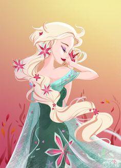 Frozen Fever - Elsa by MadEye01.deviantart.com on @DeviantArt