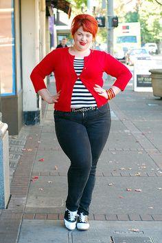 miss amelia hart--love her! Curvy gal inspiration