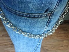 Byzantine weave Chainmail chain