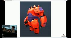 A Big Hero Panel Was Held At The Z Brush Summit And Lots Of Concept Art Showed Off Including Sketch CGI Models Baymax Hiro