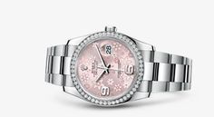 Rolex Datejust 36 Watch: White Rolesor - combination of 904L steel and 18 ct white gold - 116244