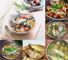 6 สูตรทำปลาทูต้ม Fusion Food, Thai Recipes, Tacos, Thai Food Recipes