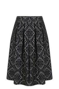 FLOCKED MIDI SKIRT Wardrobe Ideas, Midi Skirt, Kids Fashion, Comfy, Autumn, Chic, Lady, Spring, Skirts