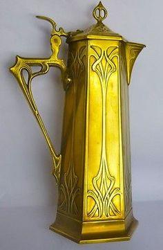 WMF Secessionist Art Nouveau Jug