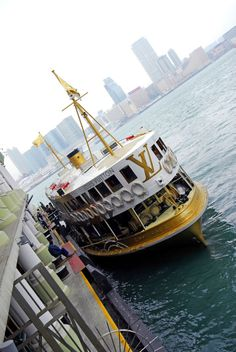 Hong Kong Star Ferry. Victoria Harbour. I've got a couple hundred ferry pictures on this harbour! Always changing!    Bill Gibson-Patmore.  (image, curation