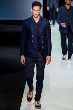 Giorgio Armani Spring 2014 Menswear - Collection - Gallery - Style.com