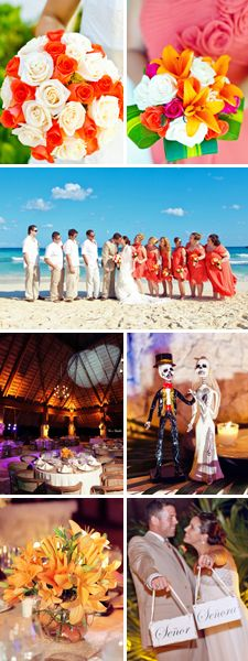 Check this out @Gwen Campbell Mexico wedding inspiration