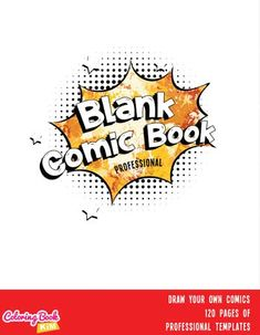 A blank comic book with professional panels to create great stories for children, adults, amateurs and professionals. 120 pages of templates designed to meet the highest requirements of both amateur and professional artists. Arranging the panels focuses on the main larger drawing, where we have the center of the page and smaller panels where we draw additions to the stage. Create Your Own Comic, Draw Your, Blank Comic Book, Comic Books, Stories For Kids, Great Stories, Comic Book Template, Templates, Website