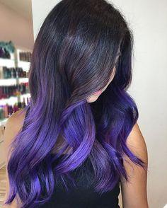 Pretty purple  #regram @hairxjojo #americansalon