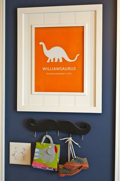 Adorable Baby Boy Nursery Wall Decor