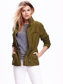 Olive Green Utility Jacket, on wish list.