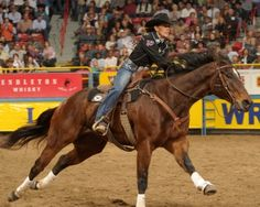 Mary Walker, winning first three rounds of WNFR! <3 such and inspiration. Keep goin Mary! :)