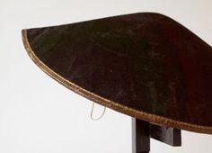 Leather samurai hat (nirayama jingasa) - Japan - 19th century (Edo period)