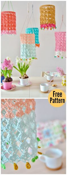 Pretty Lantern Free Crochet Pattern