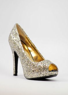 Black and Gold Prom Shoes