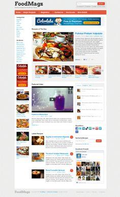 FoodMagz WordPress Theme