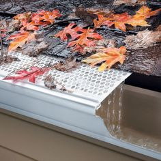 "Mesh Gutter Leaf Guards | $19.99 for set of 5, 6"" x 3 foot sections"