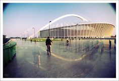 Durban, South Africa. Soccer World Cup Stadium