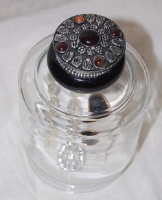 Vintage Perfume Top Glass Display Cloche by PenelopesTreasures, $15.00