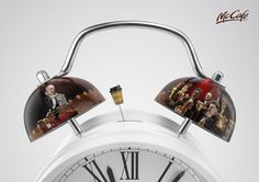 McCafé: Alarm Clock, 2 | Ads of the World™