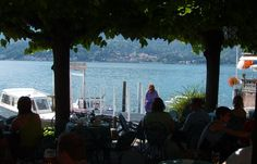View of Lake Como from Bellagio, Italy