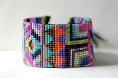 Hand Woven Beaded Friendship Bracelet. $60.00, via Etsy.