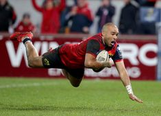 Munster Rugby qualified for the quarter-finals for a record time and this try from Simon Zebo was his in the European Cup, he's just one try behind the club's european record head by the late Anthony Foley. Munster Rugby, European Cup, Finals, Club, Final Exams
