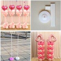 Balloon column base /stick /plastic poles Balloon arch Wedding decorations Event party supplies Gard
