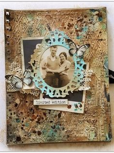 How to Vintage Art Journal Page