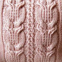 Zoom del detalles tejido