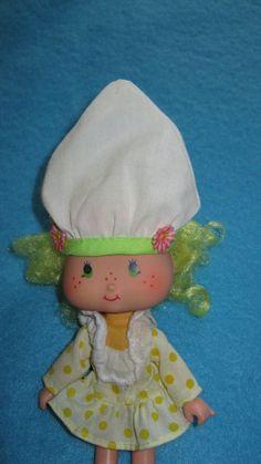 - Lemon Meringue Vintage Strawberry Shortcake doll 70s toy 80s toy via