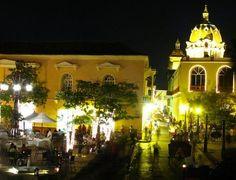 La hermosa ciudad de Cartagena de Indias. The Beautiful city of Cartagena de Indias .