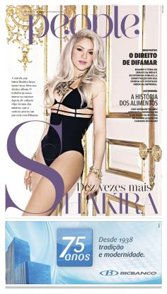 Shakira no People do jornal O POVO.