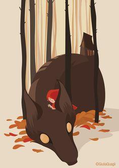 Little Red Riding Hood on Behance
