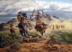 Western, Native American & Mountain Man Art by John Peterson kK