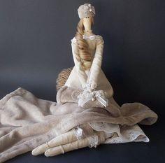 Tilda Bella - tilda doll - home decor -  Tildas- handmade doll - decoration- collectibles-art doll-present handmade
