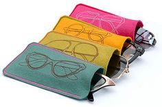 Soft Felt Spectacles Case  by susiemaroon