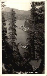 Vintage Big Bear Lake postcards